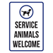 Service animals are welcome at Erskineville Doctors